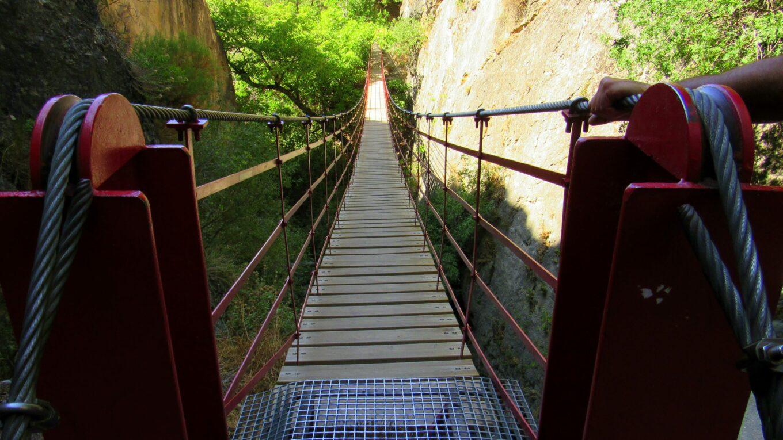 Puente colgante Los Cahorros