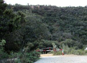 Ruta por el río Guadalix, cascada del Hervidero