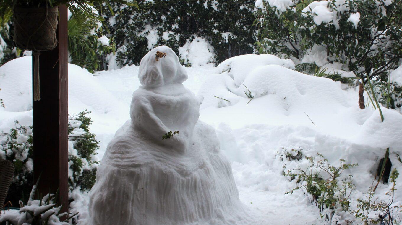 Menina de nieve Filomena