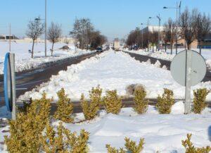 Carreteras temporal Filomena