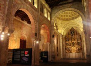 Interior de la iglesia de San Román en Toledo