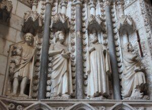 Esculturas de los Reyes Magos de la catedral de Toledo