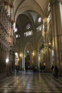 Girola de la catedral de Toledo