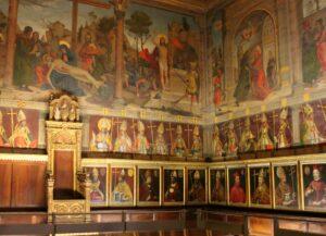 Sala capitular catedral de Toledo
