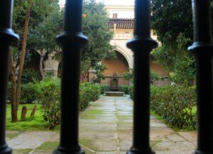 Jardines del claustro de Toledo