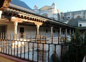 Las claverías o claustro alto de la catedral de Toledo