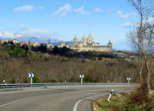 Monasterio del Escorial desde la carretera