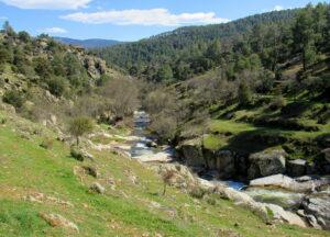 Río Cofio en  Santa Maria de la Alameda