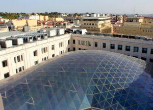 Cúpula de cristal palacio de Cibeles