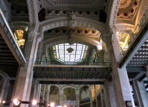 Estructuras de hierro del Palacio de Cibeles
