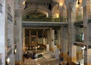 hall central Palacio de Cibeles