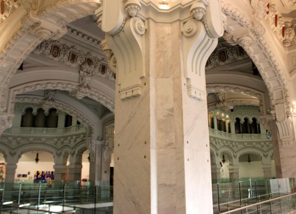 Visita palacio de Cibeles