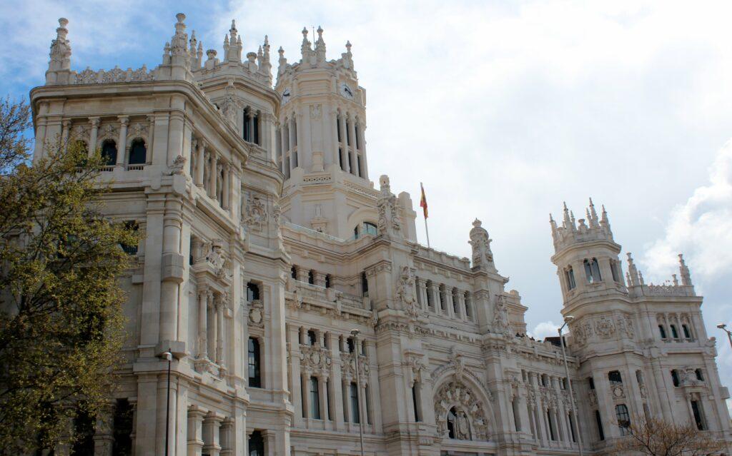 Fachada del Palacio de Cibeles