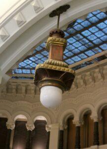 Lámparas del Palacio de Cibeles