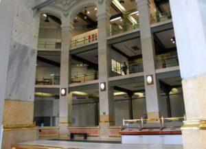 Hall Central del Palacios de Cibeles