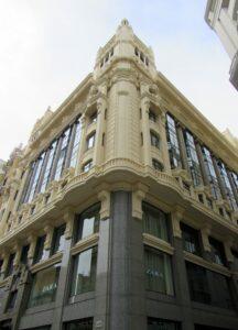 Antiguo hotel Alfonso XIII de Antonio Palacios