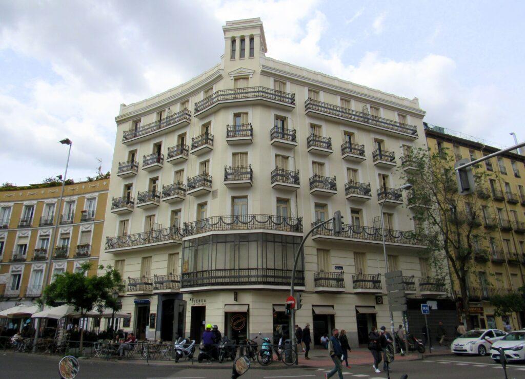 Edificio glorieta de Quevedo de Antonio Palacios