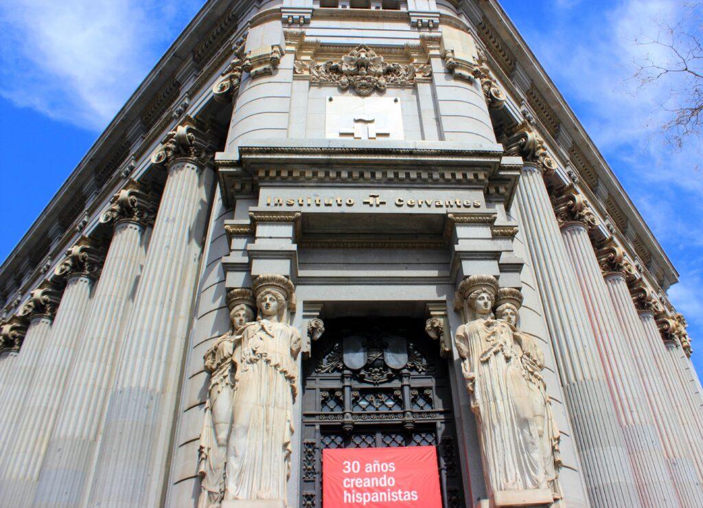 Instituto Cervantes. Antonio Palacios