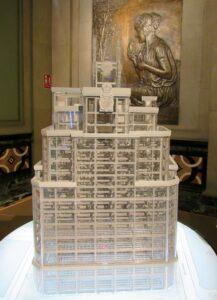 Maqueta del edificio telefónica