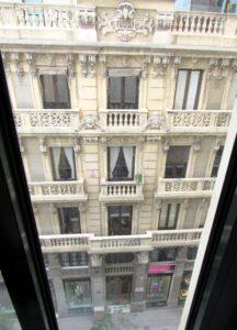 Desde las ventanas del edificio Telefónica