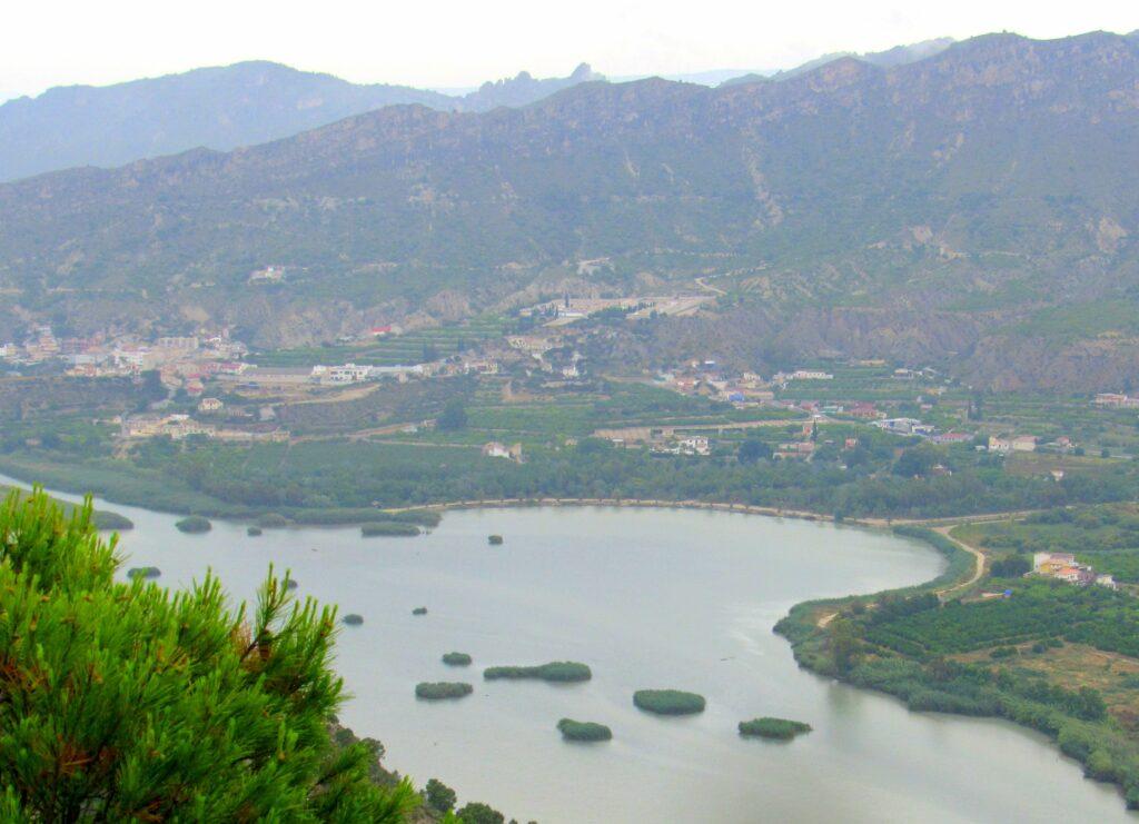 Azud de Ojós Valle de Ricote