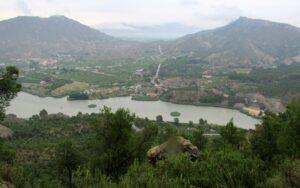 Vistas ruta morisca Valle de Ricote