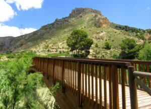 Puente de la ruta salto de la Novia Valle de Ricote