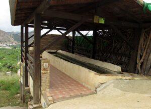 Antiguo lavadero de Ricote