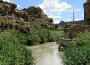 Salto de la Novia en el Valle de Ricote