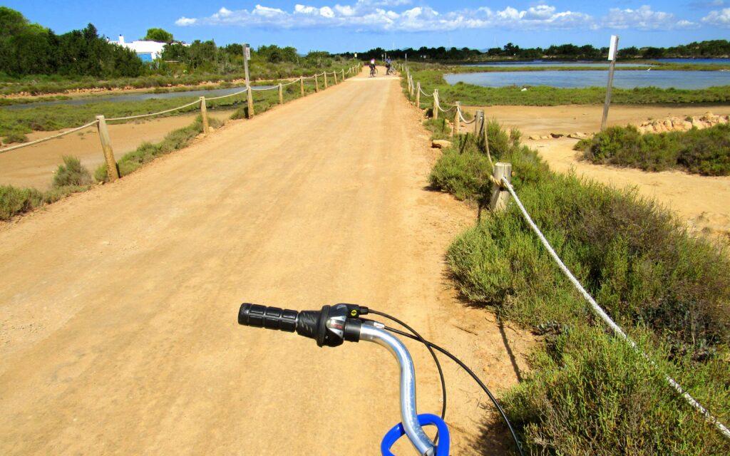 Ruta en bici en Formentera