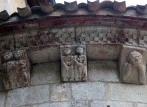 Les Landes abadía Santa María de Arthous