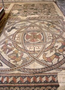 Mosaicos abbaye Saint Jean de Sorde