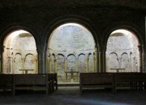 Ábside con el Santo Grial Monasterio San Juan de la Peña