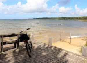 Ruta en bici por el Lac de Sanguinet y Cazaux